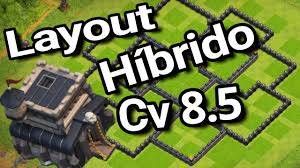 layout hibrido cv 5 clash of clans town hall 8 5 th8 5 best farming base by tracey