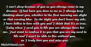 i can u0027t sleep because of you love letters