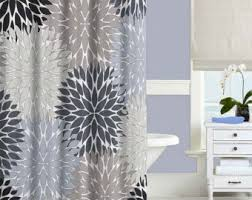 Pink Black And White Shower Curtain Navy And Gray Shower Curtain Sweet Jojo Designs Navy Blue Gray
