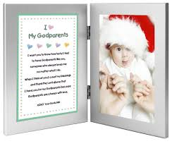 amazon com baptism or christmas gift for godparents sweet