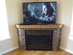 architecture fireplace stone with wooden mantle also tile excerpt