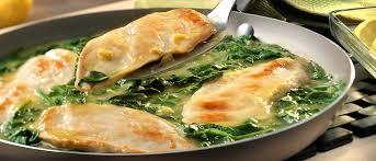 cbell kitchen recipe ideas lemon chicken scallopini with spinach recipe cbell s kitchen