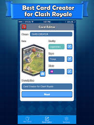 card maker for clash royale card creator on the app store