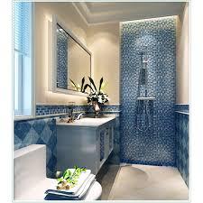 Wall Tiles Kitchen Backsplash Resin Conch Tile Kitchen Backsplash Bathroom Flooring Sea Blue