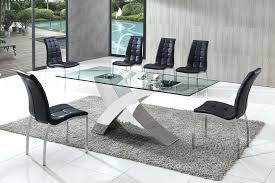 silverado chrome 47 round dining table amazing glass chrome dining table in and rebelswithacause co 20