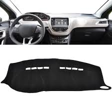 peugeot lebanon xukey dashboard cover dashmat dash mat for peugeot 2008 208 2014