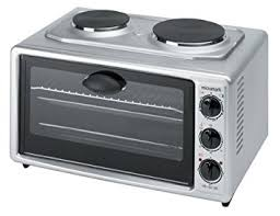 table top stove and oven micromark 39 litre table top oven with twin hob amazon co uk