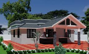 Kerala Home Design Floor Plan And Elevation by Kerala Style Single Storied House Plan And Its Elevation 4 Bedroom