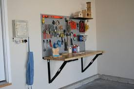 Tool Bench For Garage Slatwall For Garage Tool Storage Garage Organization Idealwall