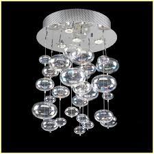 Glass Bubble Chandelier Glass Bubble Chandelier Lighting Home Design Ideas