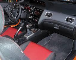 Honda Civic Si Interior Honda Civic Si Coupe Test Drive U2013 Our Auto Expert