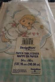 Precious Moments Baby Shower Decorations Precious Moments Party Tablecover Tablecloth And 50 Similar Items