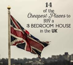 Most Affordable Places To Rent Cheapest Places In The Uk To Buy 3 Bedroom Houses 2017 Toughnickel