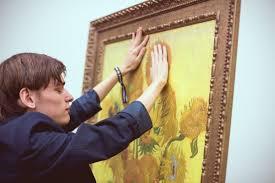 Museum For The Blind Feeling Van Gogh Van Gogh Museum