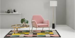 What Is An Armchair Frame Armchair Blush Cotton Velvet Made Com