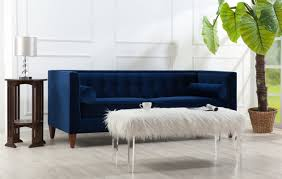 cheap chesterfield sofa navy blue sofa wayfair