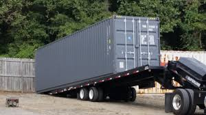 shipping container trailer for sale in atlanta used shipping