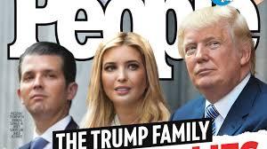 The Trump Family by People Reports That The President U0027s U0027good Boy U0027 Donald Trump Jr