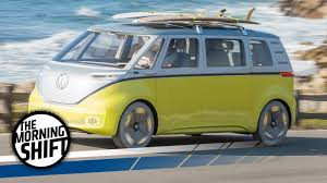 volkswagen yellow car vehicle retro volkswagen u0027s electric microbus is retro but it could actually be