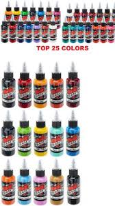 tattoo ink buy tattoo inks fusion tattoo ink original pigments set of 10 own