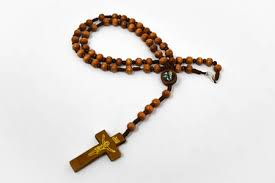 wooden rosary direct from lourdes lourdes apparition wooden rosary