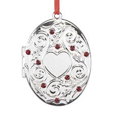 silver ornaments and decorations