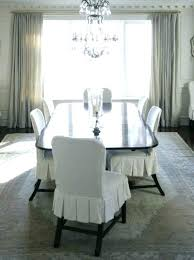 Slipcovers For Dining Chairs Linen Slipcovered Dining Chairs Slipcovers For Dining Room Chairs