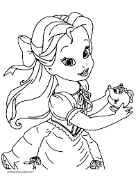 little princesses printable coloring pages disney coloring book
