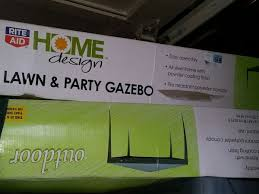 rite aid lawn u0026 party gazebos 4 wedding pinterest party