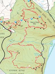 Bluebird Map Hike Storm King Mountain Ny Nj Ny Hiking Cycling And Kayaking