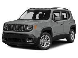 jeep renegade used used 2017 jeep renegade latitude fwd suv glacier for sale santa fe