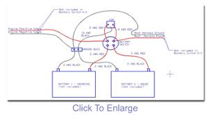 wiring diagram for dual batteries the hull boating and