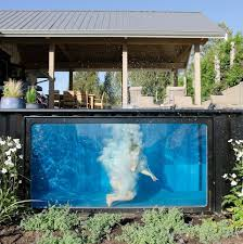 modpools shipping container pools home is where my hearties be