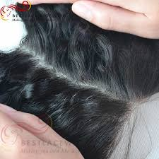 top closure silk top closure with 3pcs hair weaves wave