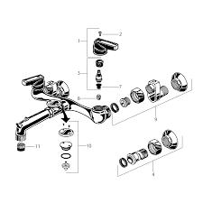 service sink faucet schematics