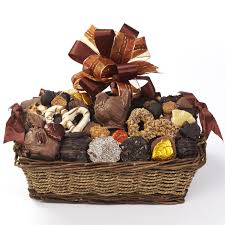 thanksgiving gift basket 2 5 lbs kron chocolatier