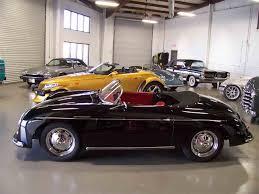 classic porsche black 1957 porsche 356 for sale classiccars com cc 965421