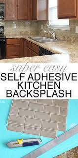 Easy Diy Backsplash Ideas by Best 25 Kitchen Backsplash Diy Ideas On Pinterest Diy Kitchen