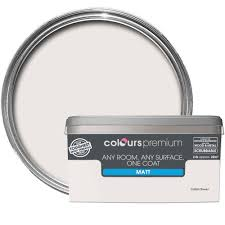 colours premium cotton flower matt emulsion paint 2 5l