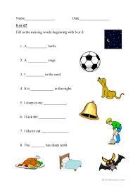 B And D Worksheets 12 Free Esl Beginning Letter Worksheets