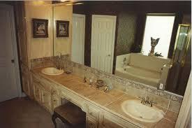bathroom tile countertop ideas tile countertop ideas for kitchen and bathroom handbagzone