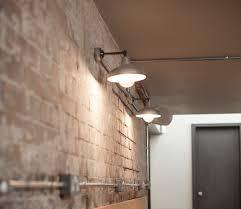 galvanised industrial wall lights inspirasjon kg pinterest