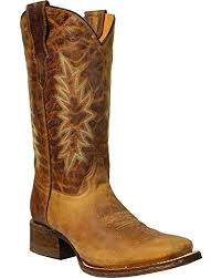 vintage cowboy boot l amazon com corral girls vintage honey cowgirl boot square toe