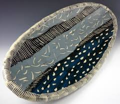 ceramic platter a new lars westby form has come to town the trifoil platter