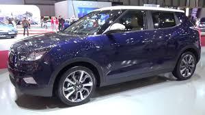 ssangyong 2016 ssangyong tivoli exterior and interior geneva motor