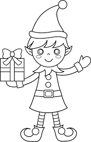 printable elf coloring pages click on the below best printable christmas elf coloring pages to