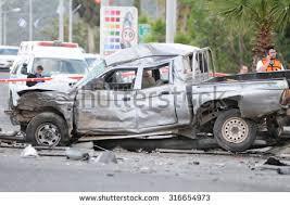 haifa israel april 10 crashed car stock photo 316654973 shutterstock