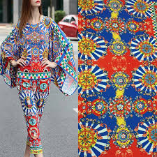 aliexpress com buy polyester thin jacquard dress fabric 2 2