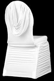 white chair cover swag back ruched spandex banquet chair cover white cv linens