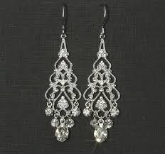 rhinestone chandelier earrings rhinestone chandelier earrings chandelier bridal earrings